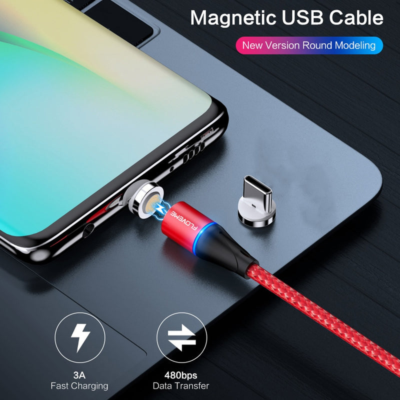 Super Charger 5A USB Ladekabel Magnet Adapter USB C