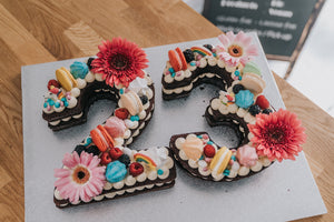 NUMBER CAKE X2