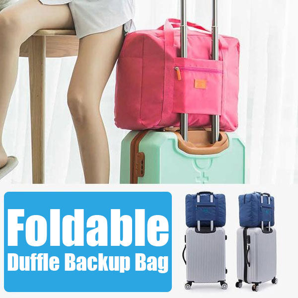 Foldable Duffle Backup Bag (50% Off Today Only!)