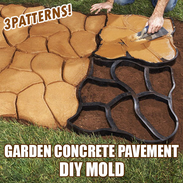 Garden Concrete Pavement DIY Mold (50% Off Today Only!)