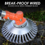 Break-Proof Wired Round Edge Plant Trimmer Blade