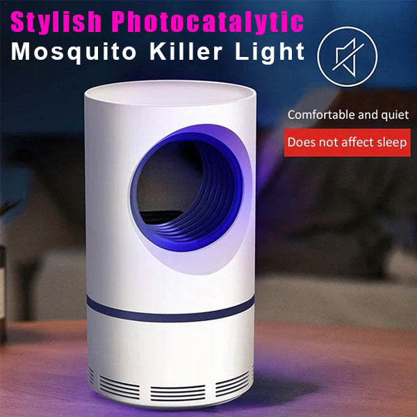 Stylish Photocatalytic Mosquito Killer Light  (50% Off Today Only!)