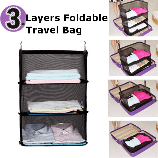 3 Layers Foldable Travel Bag **50% Off Today ONLY!**