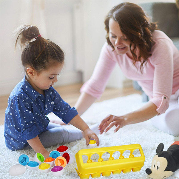 Smart Easter Bunny's Educational Toy Eggs (50% Off Today Only!)