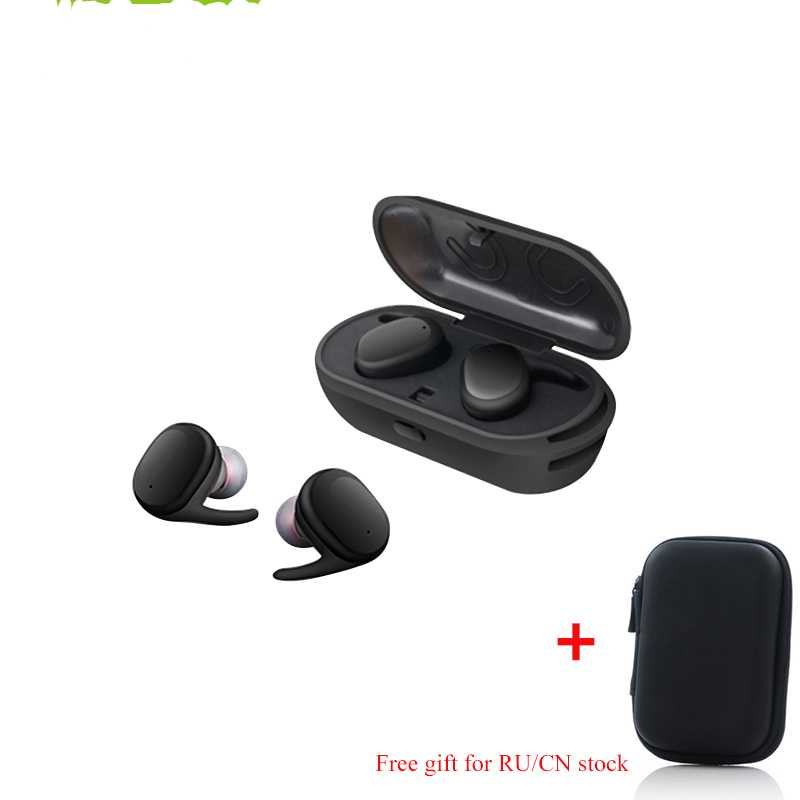 Gizmo Wireless Waterproof Bluetooth Earbudphones with mic (support all iphones and android phones)
