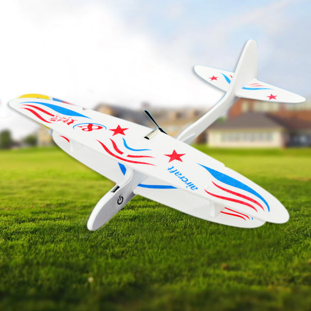 2019 New Year Mega Sale !! DIY Hand-Throw Gliding Plane with electric Motor  **70% Off Today ONLY!**