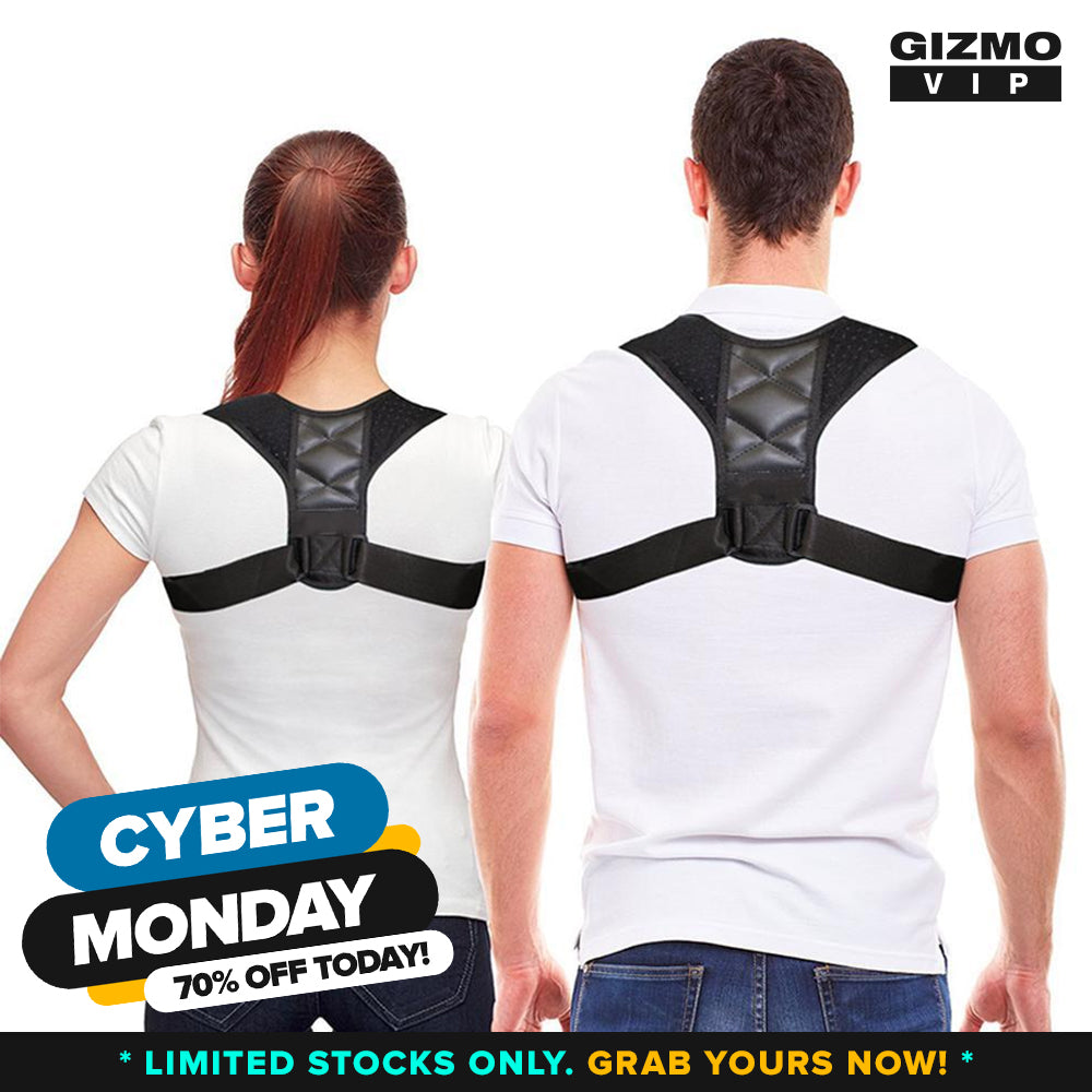 GizmoVIP™ Posture Corrector (Adjustable to All Body Sizes) **50% Off Today ONLY!**