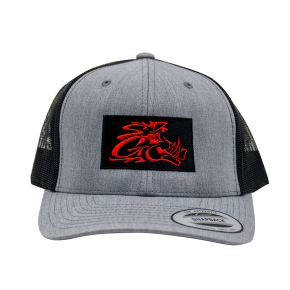 Gray / Black Trucker Hat