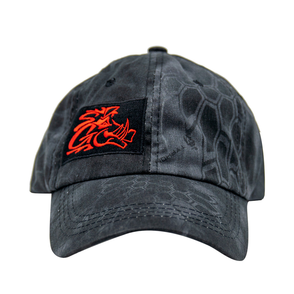 Kryptic Camo Washed Cap