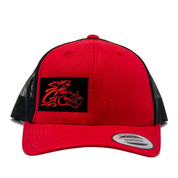 Red / Black Trucker