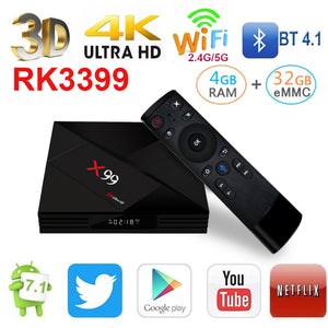 X99 4GB Ultra HD (4K), with voice remote