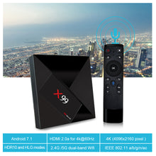 X99 4GB Ultra HD Box with Voice Remote