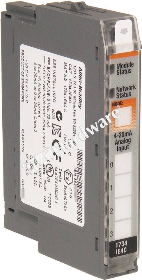 MODULE,ANALO,4 INPUT ,SINGLE END - 1734IE4C