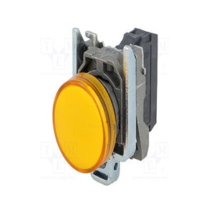 XB4BVM5 - LED PANEL MOUNT INDICATOR  YELLOW