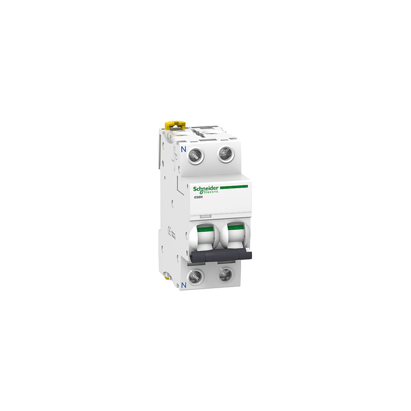 A9F64201 - ACT19 IC60A 2P 1A MINIATURE CIRCUIT  BREAKER