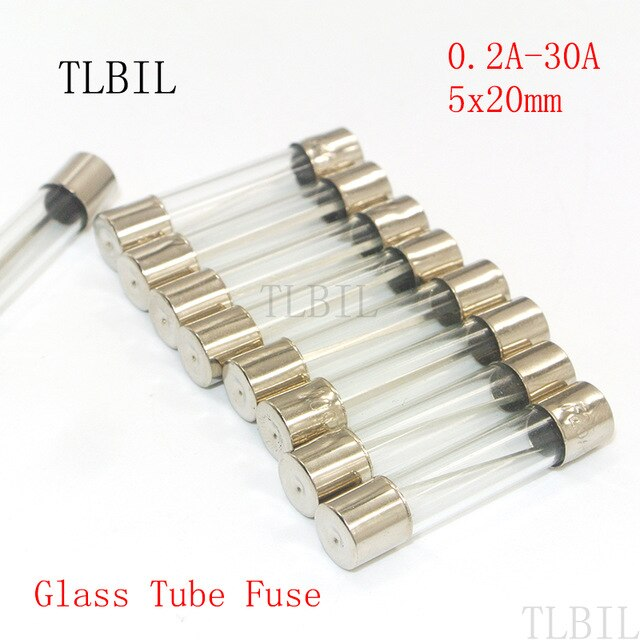 F600 3A/100 - 3A 5X20MM FUSES-GLASS FAST BLOW