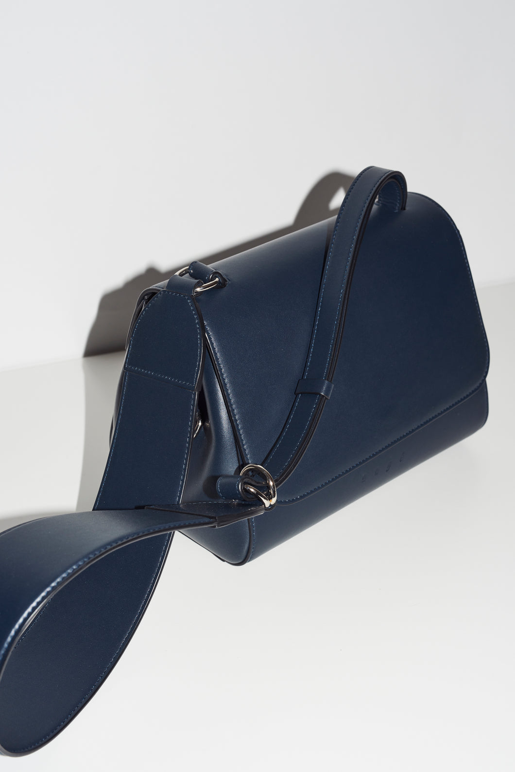 navy cross-body