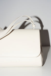 cream & white cross-body