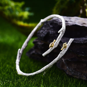 Bird's Marriage - Handmade Bangle | New - MetalVoque