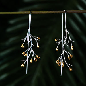 Topsy Tree - Dangle Earrings - MetalVoque