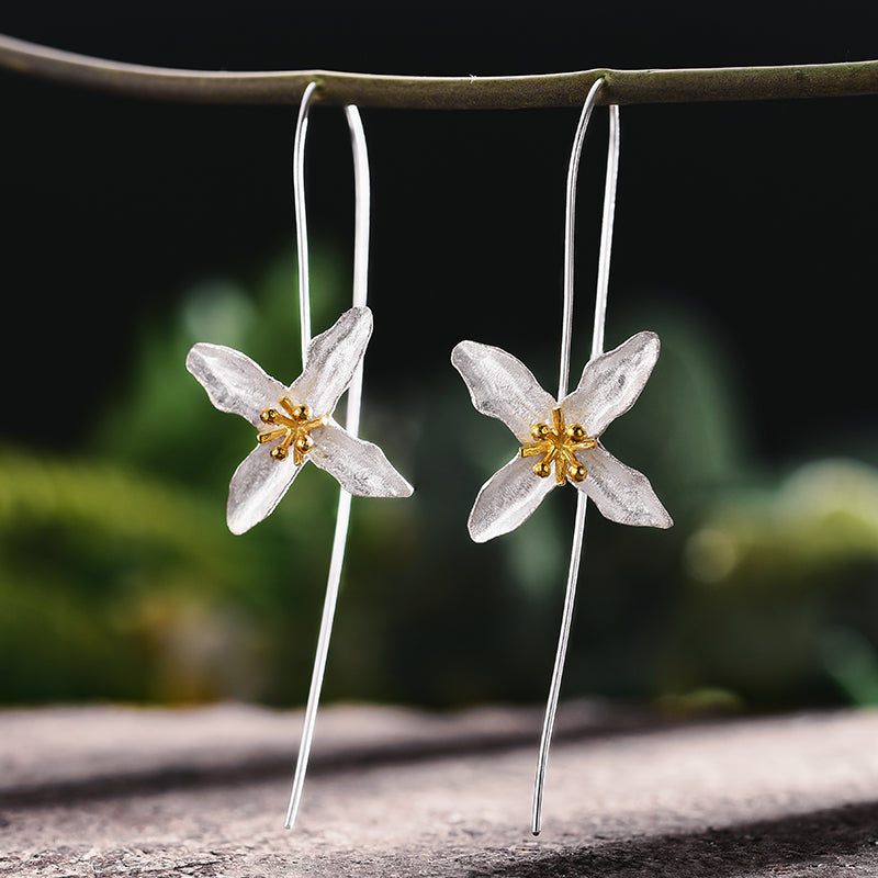 Poetic Clover - Dangle Earrings - MetalVoque