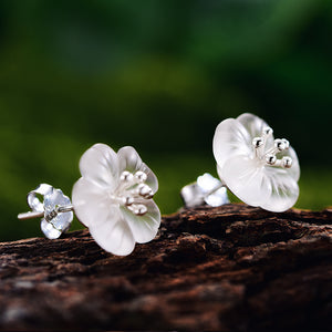 Rainy Flower - Stud earrings | NEW - MetalVoque