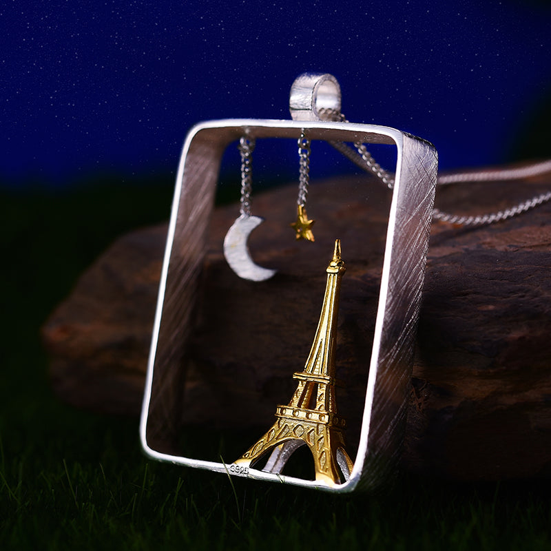 Paris At Night - Handmade Pendant | NEW - MetalVoque