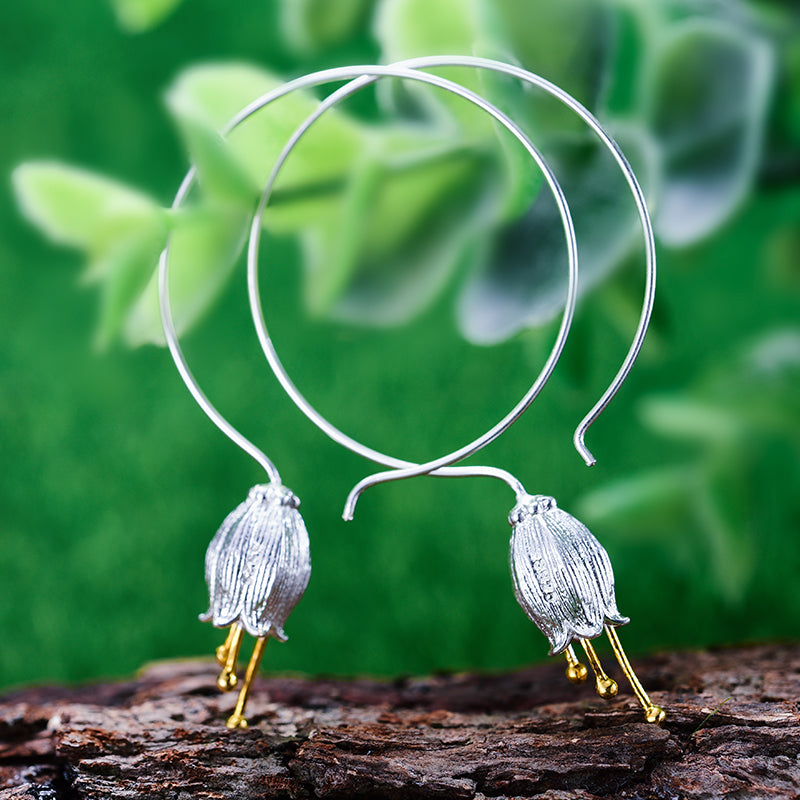 Fresh Bell - Hoop Earrings