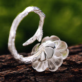 Rainy Flower - Handmade Ring
