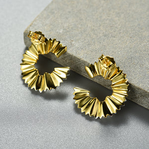 Pencil Art - C/shape Earrings | NEW