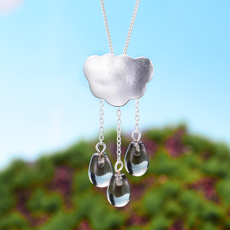 Rainy Cloud - Handmade Pendant | NEW - MetalVoque