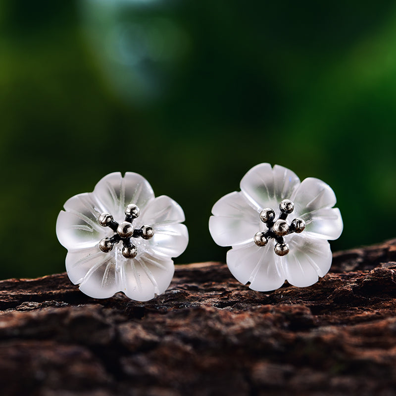 Rainy Flower - Stud earrings | NEW