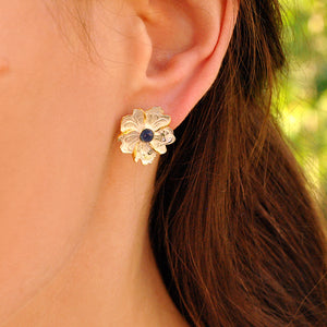 Tourmaline Leaf - Stud Earrings | NEW