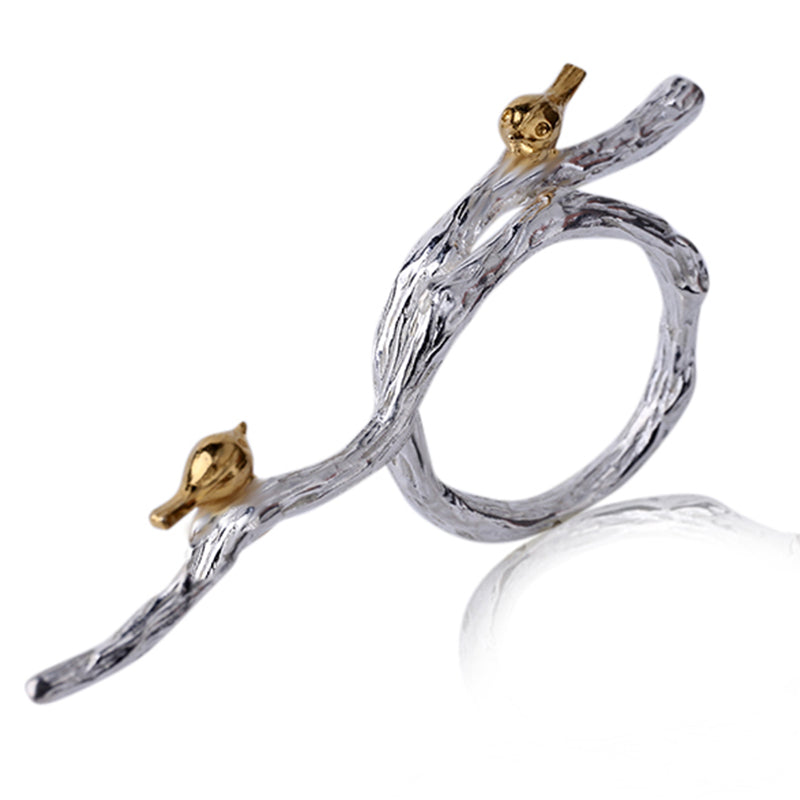 Birds Marriage - Adjustable Ring