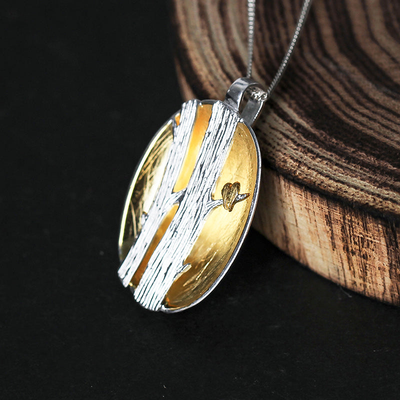 Bird's Marriage - Handmade Pendant | NEW