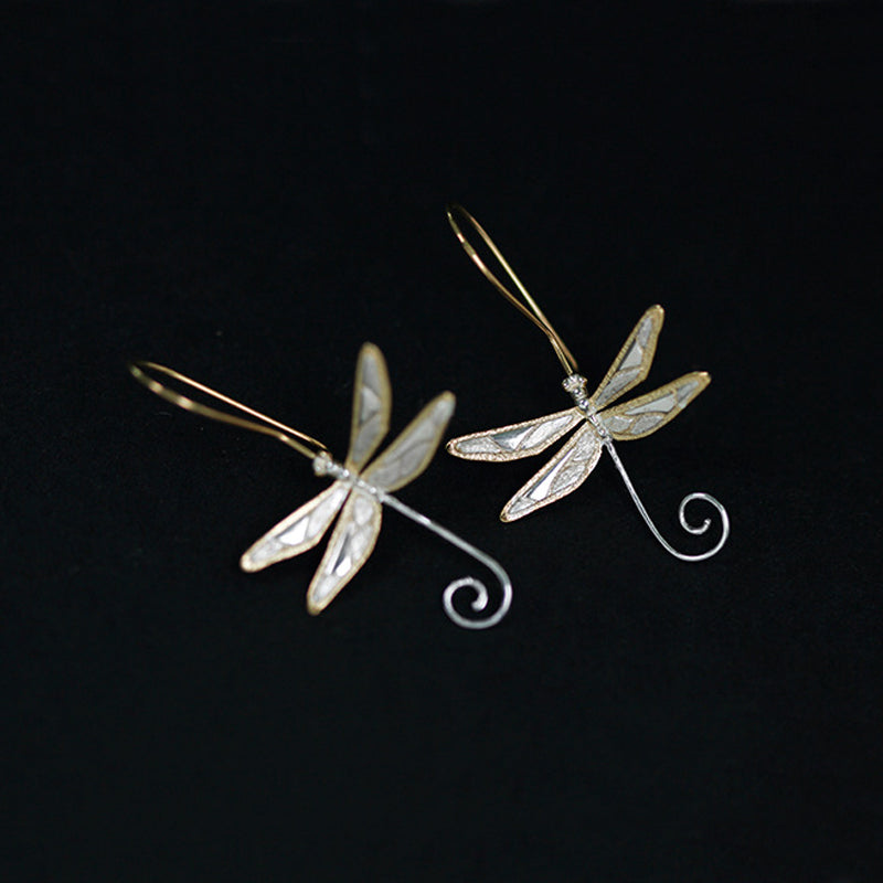 Dragonfly lullaby - Dangle Earrings