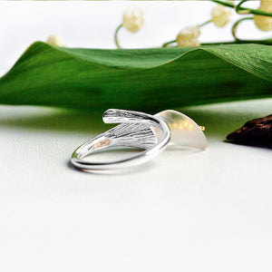 Calla Lily - Adjustable Ring