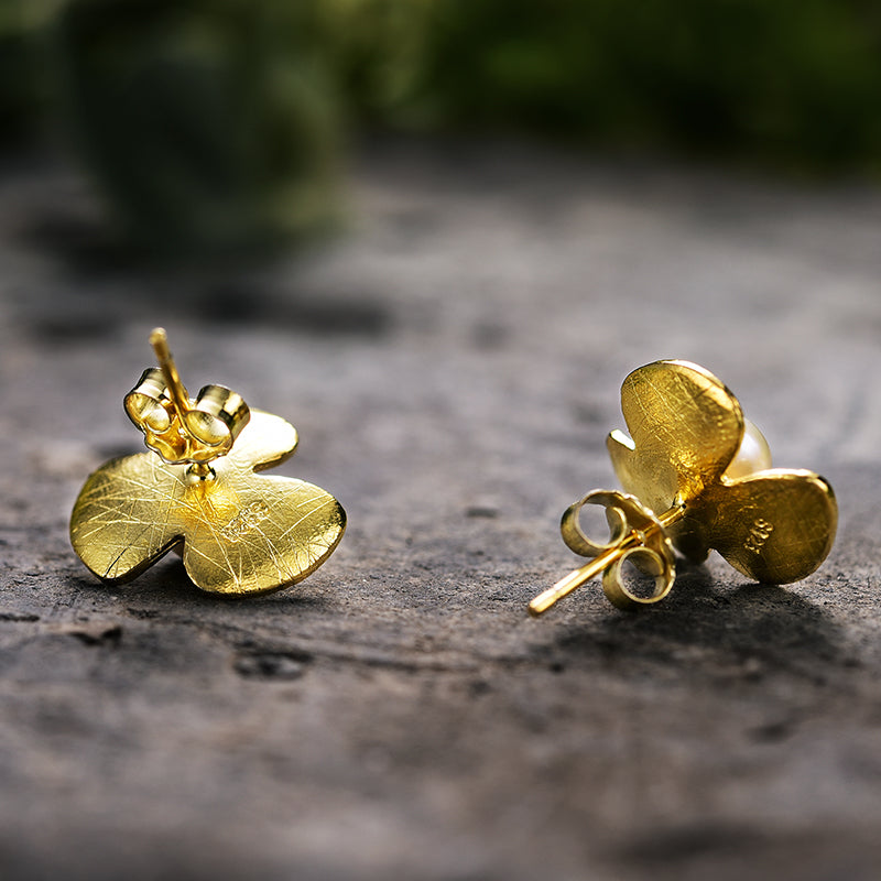 Secret Clover - Stud Earrings | NEW - MetalVoque