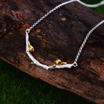 Two Little Birds - Handmade Necklace