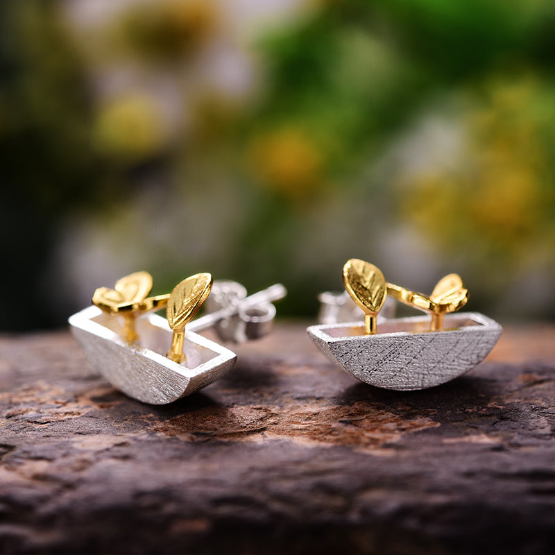 My Little Garden - Stud Earrings