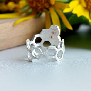 Honeycomb Guard - Adjustable Ring | Limited Edition