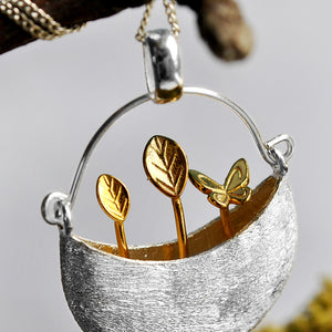 My Little Garden - Handmade Pendant