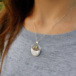 My Little Garden - Handmade Pendant - MetalVoque