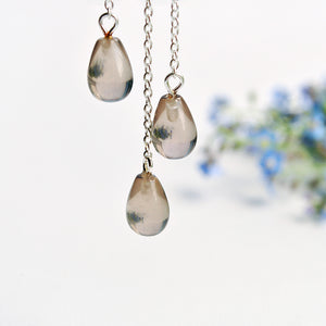 Rainy Cloud - Drop Earrings | NEW - MetalVoque