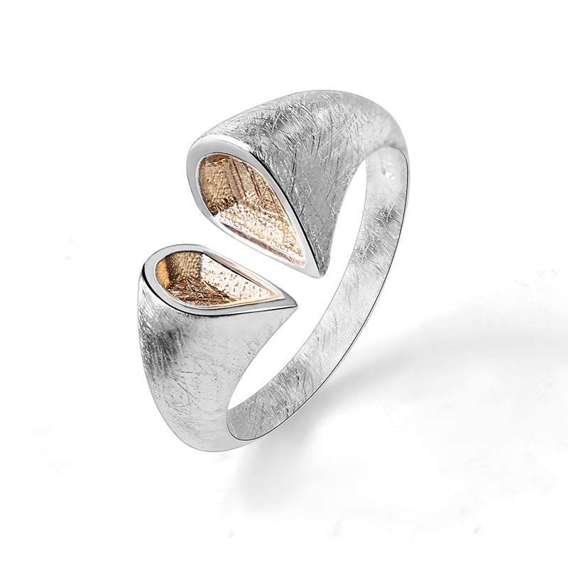 Golden Heart - Adjustable Ring