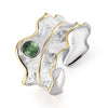 Tourmaline Leaf - Adjustable Ring