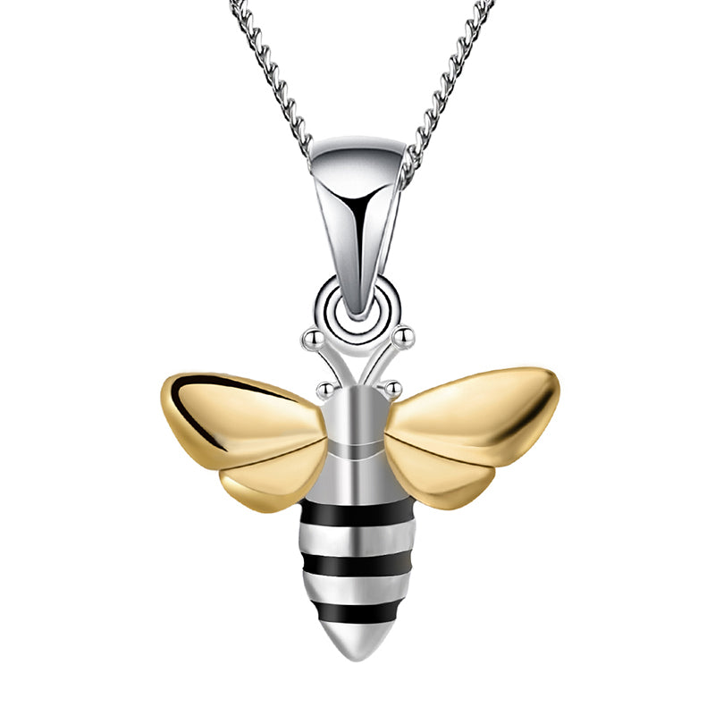 Lovely Honeybee - Handmade Pendant - MetalVoque