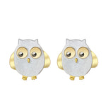 Cute Owls - Stud Earrings - MetalVoque
