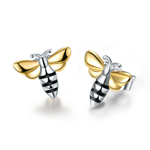 Lovely Honey Bee™ - Handmade Stud Earrings
