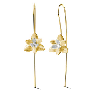 Blooming Flower - Dangle Earrings